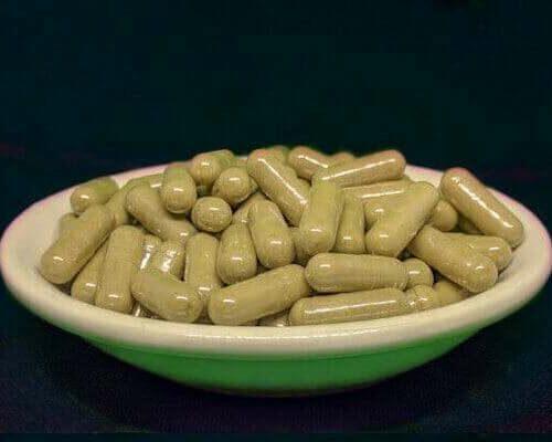 Green Nias Kratom Capsules Product Image