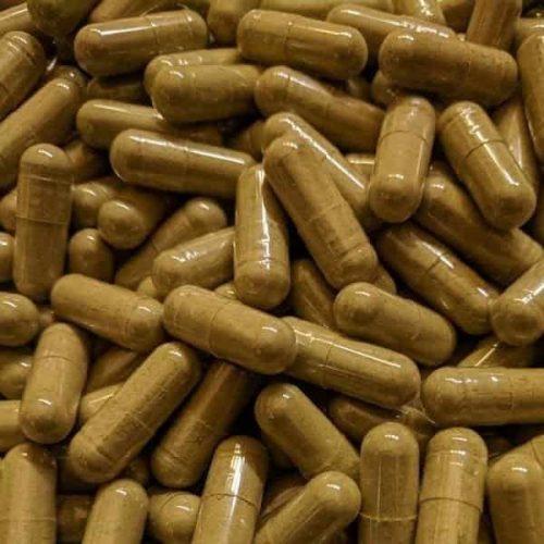 Yellow Cambodian Kratom Capsules and Powder   Socratic Solutions